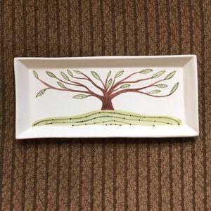 3/$10 Ceramic Tree of Life Trinket Dish